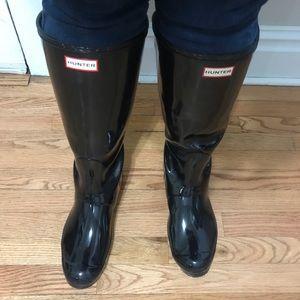 Hunter Adjustable Back Rain Boots